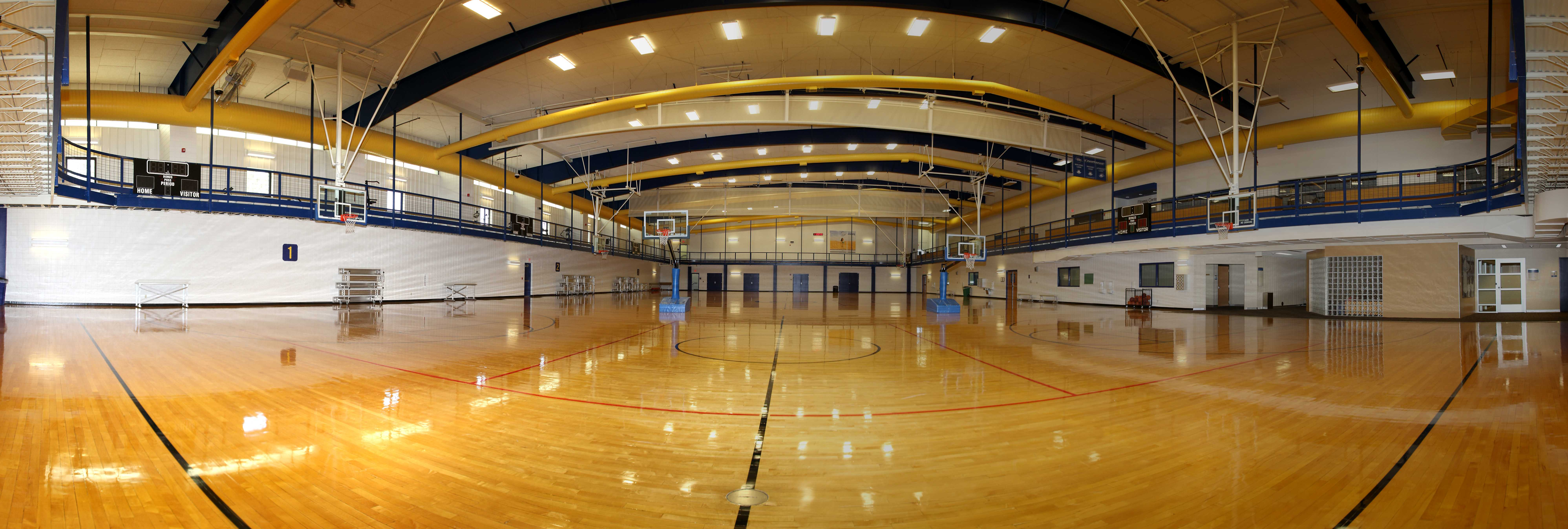 Basketball courts derby recreation commission ks for Racquetball court construction cost