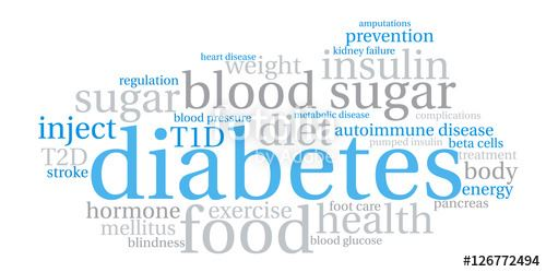 diabetes words 5